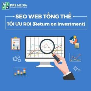SEO web tổng thể và ROI